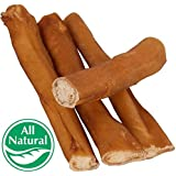 """5"""" Straight Bully Sticks for Dogs or Puppies (100 Pack) All Natural & Odorless Bully Bones 