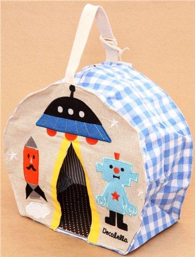 Bolso dispensador de pañales robot espacio de Decole Japón