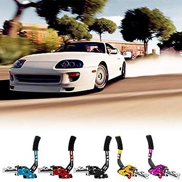 HoganeyVan Modificaci/ón de autom/óviles Hidr/áulico Freno de Mano Carreras Deriva Competitivo Freno de Mano Color Modificado Freno de Mano