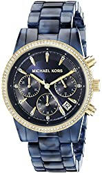 Michael Kors Women's Ritz Blue Watch MK6278