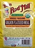 64oz Organic Whole Ground Golden Flaxseed Meal Bob's Red Mill (4 Pounds Total) by N/A [Foods]