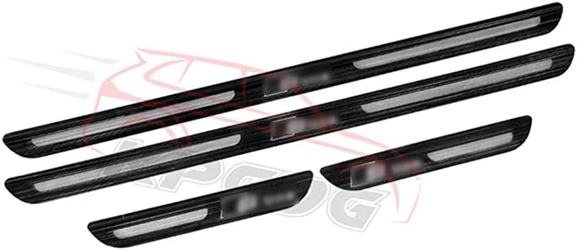 Stainless Steel Inner Door Sill Scuff Plate Cover Guard For Audi Q5 2012-2018