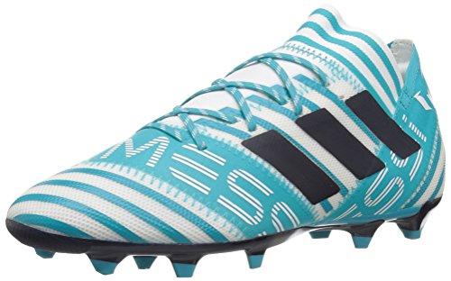 Adidas Mens Nemeziz Messi 17,2 Fg Fotballsko Hvit / Legende Blekk / Energi Blå