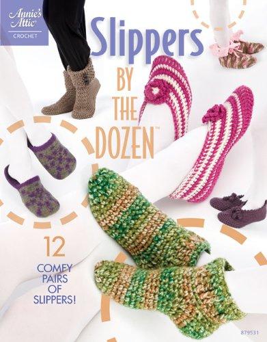 Slippers by the Dozen (Annie's Attic: Crochet)