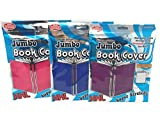 Jumbo Book Covers (3) - Premium Edition (Pink, Purple and Blue)