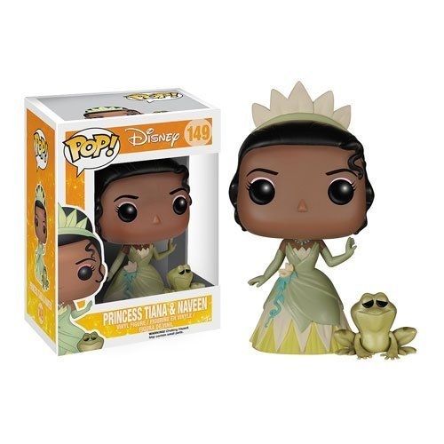 Funko POP Princess and the Frog Princess Tiana and Naveen the Frog Vinyl Figure Fanko pop Disney the princess and the frog Tiana & Navin [parallel import]
