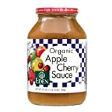 Eden Apple Cherry Sauce, Organic