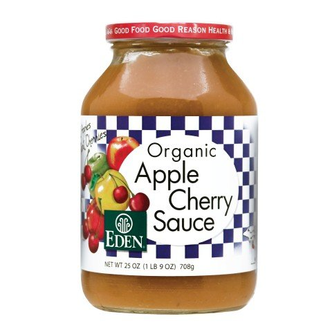Eden Apple Cherry Sauce, Organic by Eden