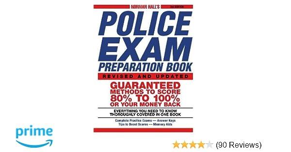 Norman Hall's Police Exam Preparation Book: Norman Hall
