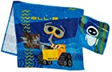 Wall-E 2-Piece Bath/Wash Fiber Reactive Print Towel Set with Sound Lights