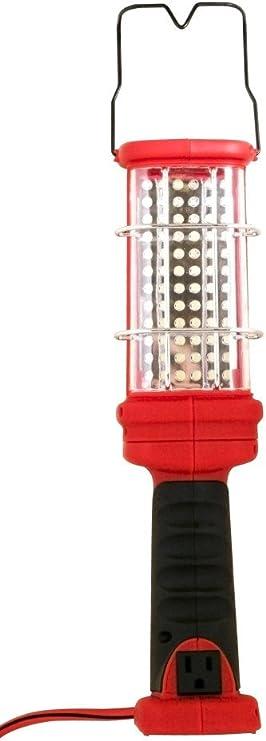72-L L1923 16//3-Gauge Super Bright LED Handheld Work Light with Grounded Outlet