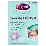 Calpol Vapouriser Night Plug In & 5 Refill Pads Bild