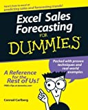 img - for Excel Sales Forecasting For Dummies 1st (first) by Carlberg, Conrad (2005) Paperback book / textbook / text book