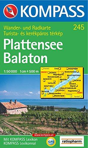 Plattensee/Balaton 1 : 50 000. Wandern/Rad. GPS-genau