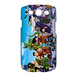 Samsung Galaxy S3 I9300(3D) Phone Case for Dragon Ball Z pattern design GDBZQ683414