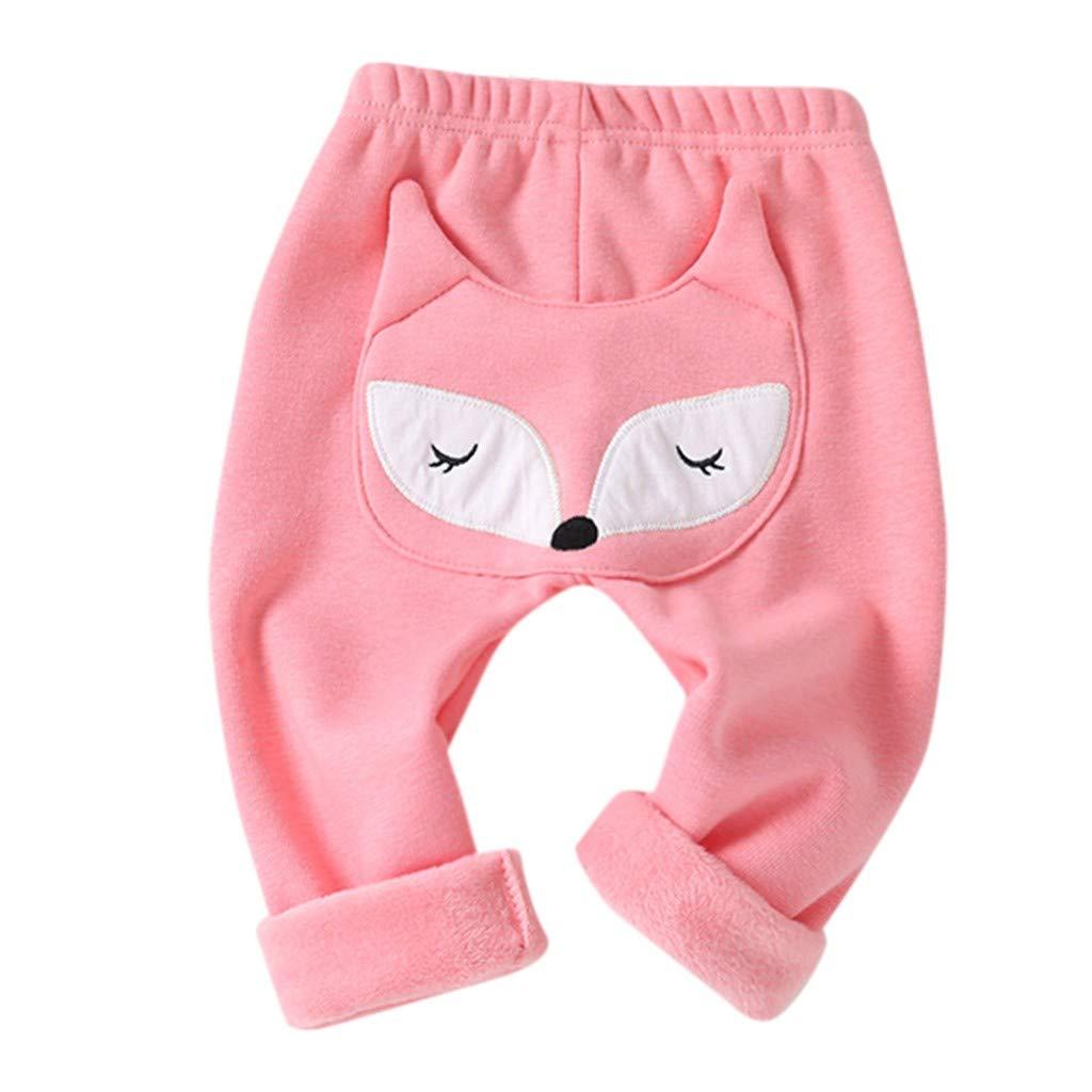 i-uend Baby Pants Baby Kinder Kinder Jungen M/ädchen Cartoon Shark Zunge Harem Hosen Hosen Hosen f/ür 0-3 Jahre