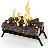 "Regal Flame 18"" Ethanol Fireplace Grate Log Set"