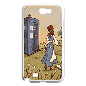 James-Bagg Phone case - TV Show Doctor Who & Police Box Pattern Protective Case For Samsung Galaxy Note 2 Case Style-6