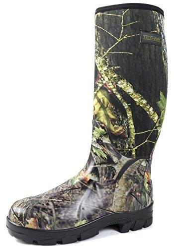 pluie néoprène camouflage la la la de l'agriculture en Nitehawk pêche pour boue Bottes chasse gWwnZqREOT