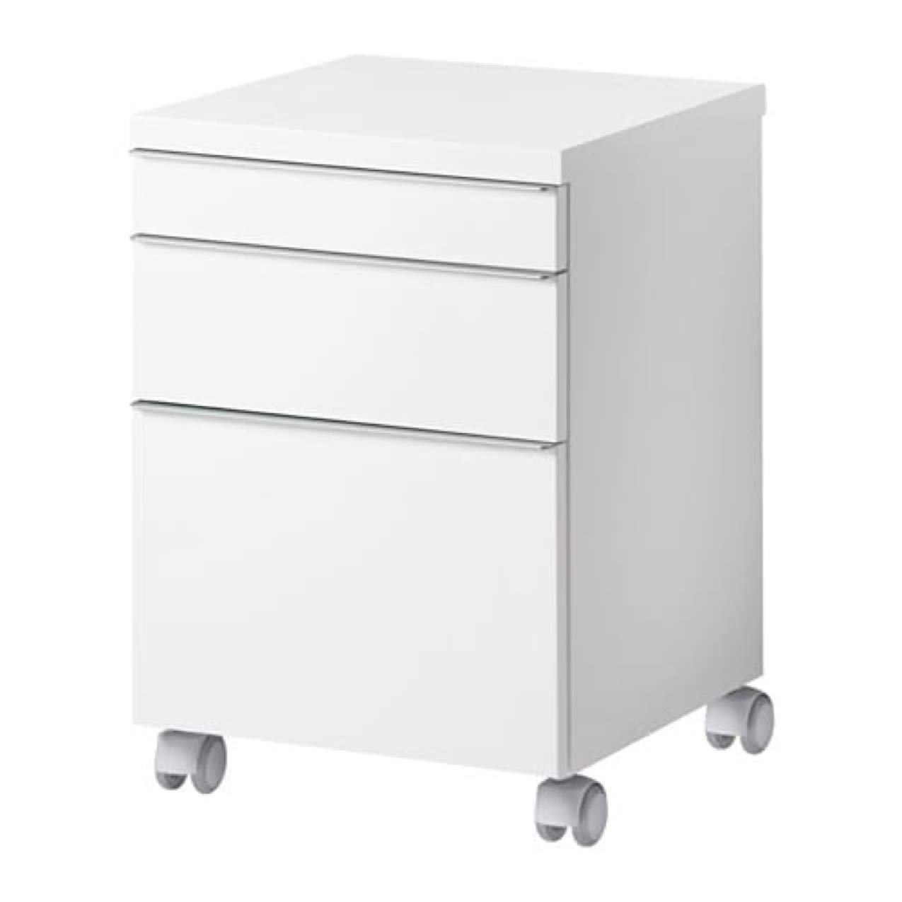 Amazon.com: IKEA Besta Burs Drawer Unit on Casters High ...