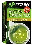 Ito En Matcha Green Tea, Tea Bags box of 20 (Traditional, Pack of 2)