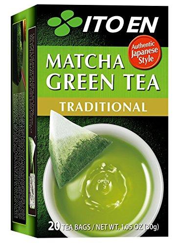 Ito En Matcha Green Tea, Tea Bags box of 20 (Traditional, Pack of 2) by Ito En