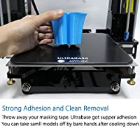 Anycubic Ultrabase 3D Printer Platform Tempered Glass Plate Durable Build Surface for Prusa i3 MK2 MK3 Heatbed 214x214mm by Anycubic