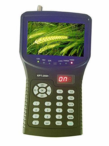 (Kangput KPT-255H+TVI hd satellite dish signal finder meter for directv monitor)