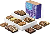 Fairytale Brownies Thinking of You Bar & Brownie Combo Gourmet Chocolate Food Gift Basket - 3 Inch Square Full-Size Brownies and 3 Inch x 2 Inch Blondie Bars - 15 Pieces - Item CT381