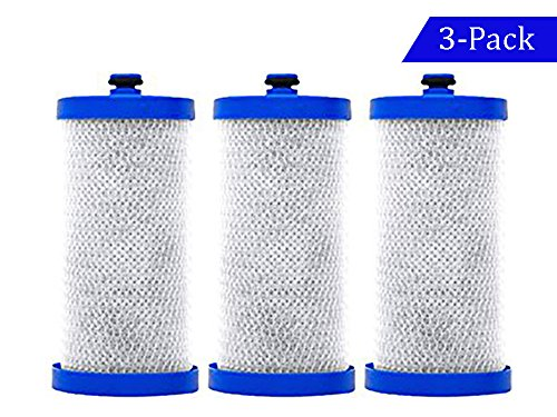 3 x Frigidaire Puresource WF1CB, WFCB, RG100, NGRG2000, RG-100, NGRG-2000, 9910, 46-9910 Refresh Water Filter Replacement 3 PACK - 3 Pack Replacement Filter