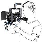 ASHANKS DSLR Rig Set Movie Kit Film Making System Video Support Camera Cage/Shoulder Mount/Matte Box/Follow Focus For Canon Nikon Sony Camera Camcorder