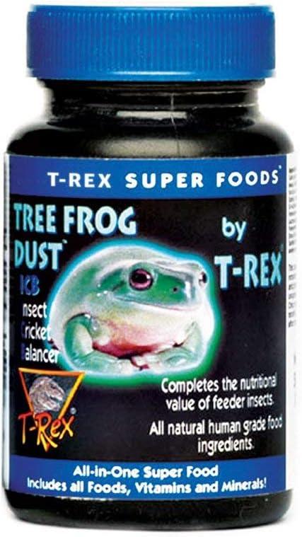 T-Rex Tree Frog Supplement - Calcium Plus
