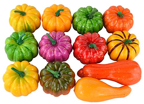 Best artificial pumpkins and gourds for decorating list