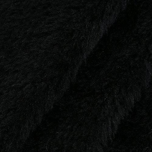 Bekleidung Loveso Damen Kleider Herbst Winter Frauen Kleid Einfarbig Langarm Dress Gestrickter Strickpullover Freizeitkleider Abendkleider Cocktailkleider Tops (HN) Schwarz 6r3yVm8ld