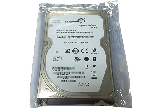 - Seagate 250GB 5400RPM 8MB Cache SATA 3.0Gb/s 2.5