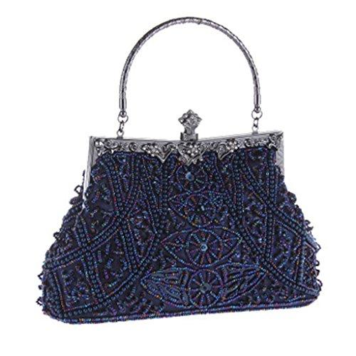 Bleu pour Pochette Femme JAGENIE Bleu Bleu wp1zOnTq