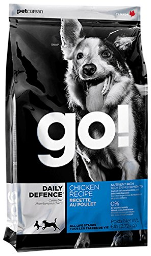 Petcurean 815260000895 Go! Refresh and Renew Chicken Dog 6-Pound