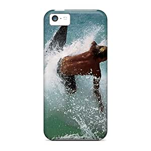 Faddish Phone Surfing Water Sports Cases For Iphone 5c / Perfect Cases Covers
