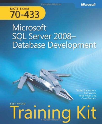 [PDF] MCTS Self-Paced Training Kit (Exam 70-433): Microsoft? SQL Server? 2008 Database Development Free Download | Publisher : Microsoft Press | Category : Computers & Internet | ISBN 10 : 0735626391 | ISBN 13 : 9780735626393