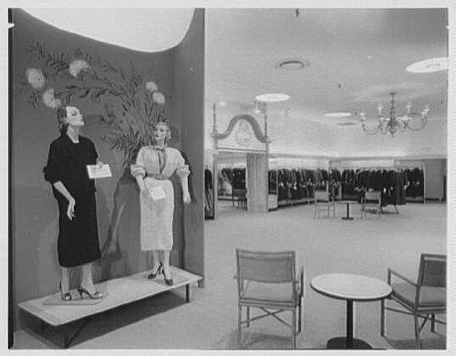 Photo: Gimbel Brothers,business in Cross County Center,Yonkers,New York. Boutiques - Yonkers Cross County
