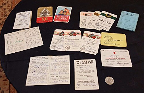 1960s Lot of BOY SCOUTS OF AMERICA Various Accommodations for LYLE SCHULZ ()