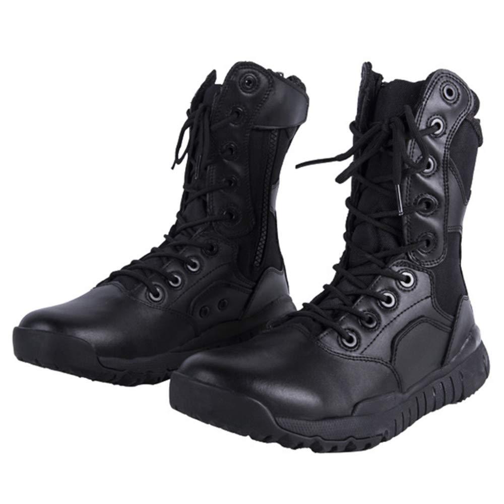 Männer Bergsportliche High-Top Outdoor Taktik Stiefel Leichte Kampfstiefel Ausgebildet Bergsportliche Männer Schuhe Armee Schuh schwarz 62334c