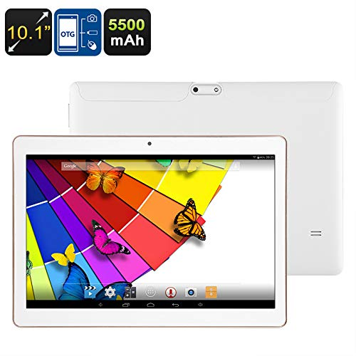 10.1 Inch Android Tablet PC (Quad-Core CPU, Bluetooth, OTG, WiFi, 5500mAh, 32GB)   B07HGSRRTG