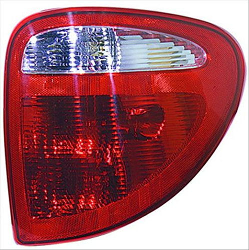 Partslink CH2801140 Multiple Manufacturers CH2801140N OE Replacement Tail Light Assembly DODGE CARAVAN 2001-2003