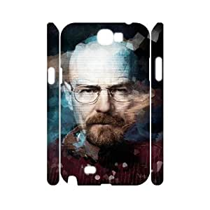 HXYHTY Breaking bad Customized Hard 3D Case For Samsung Galaxy Note 2 N7100