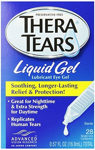 Thera Tears Liquid Gel (Thera Tears Liquid Gel, 0.57 fl oz, 28-Count (Pack of 3) ,Thera-d7w3)