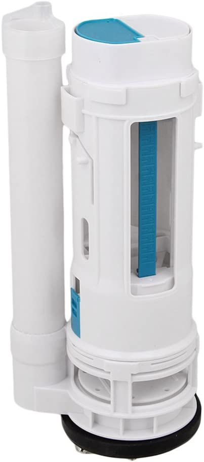 Toilet Bottom Inlet Fill Valve Split Push Button Dual Flush Cistern Syphon 25cm