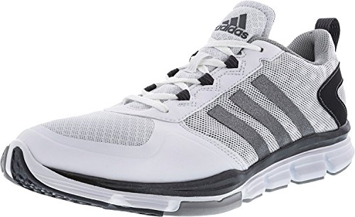 adidas Men's Freak X Carbon Mid Cross Trainer, White/Carbon Met. Light Onix, (12 M US)