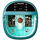 Belmint Foot Spa Massager Machine with Heat Function, O2 Bubbles Massage, 6 Pressure