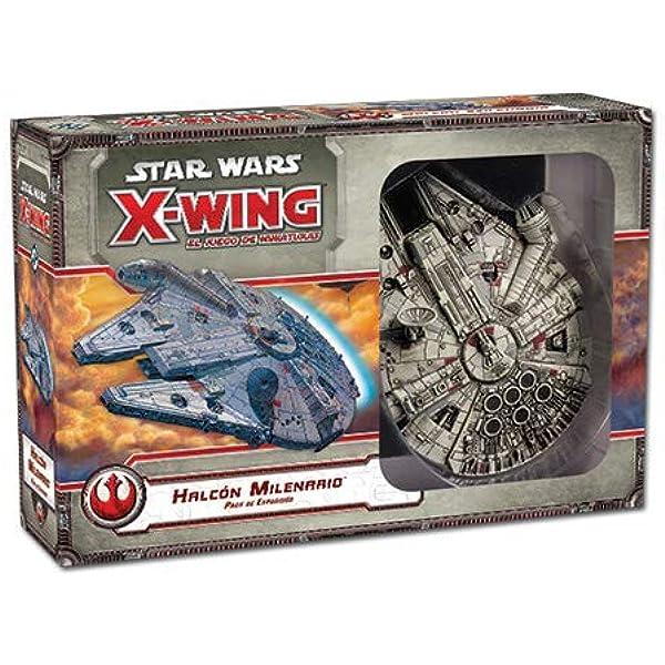 Fantasy Flight Games- Star Wars X-Wing: halcon milenario (Edge Entertainment EDGSWX06): Amazon.es: Juguetes y juegos
